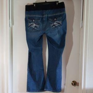 Indigo Blue Jeans - Indigo Maternity Jeans